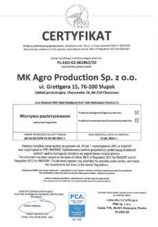 EKO certyfikat przetwórstwo-1